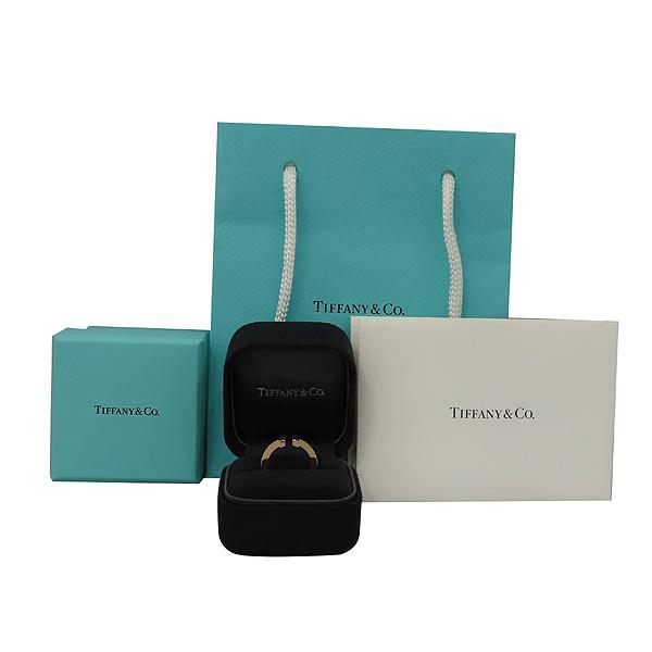 Tiffany(티파니) 18K (750) 로즈 골드 티파니T 스퀘어 링 반지 - 8호 [대구황금점]