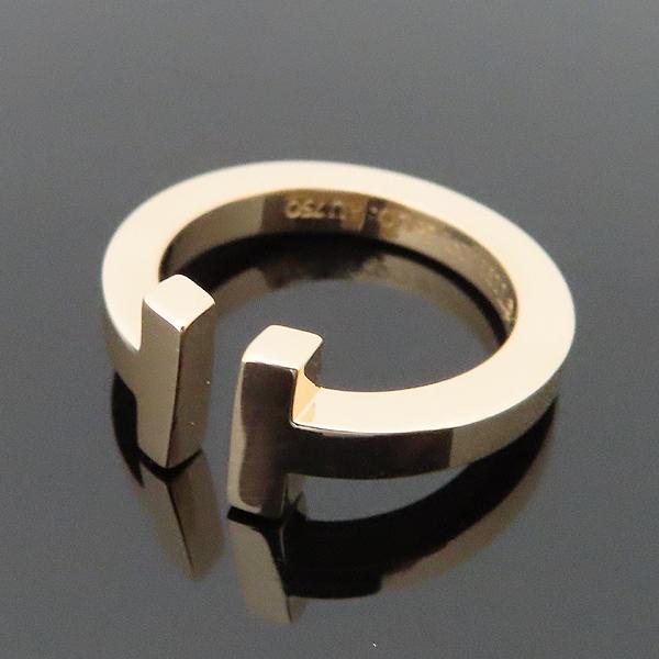 Tiffany(티파니) 18K (750) 로즈 골드 티파니T 스퀘어 링 반지 - 8호 [대구황금점] 이미지2 - 고이비토 중고명품