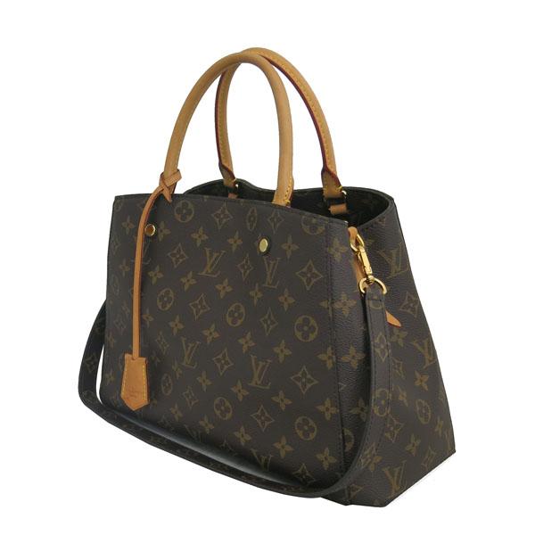 Louis Vuitton(루이비통) M41056 모노그램 캔버스 몽테뉴 MM 토트백 + 숄더스트랩 [동대문점] 이미지2 - 고이비토 중고명품