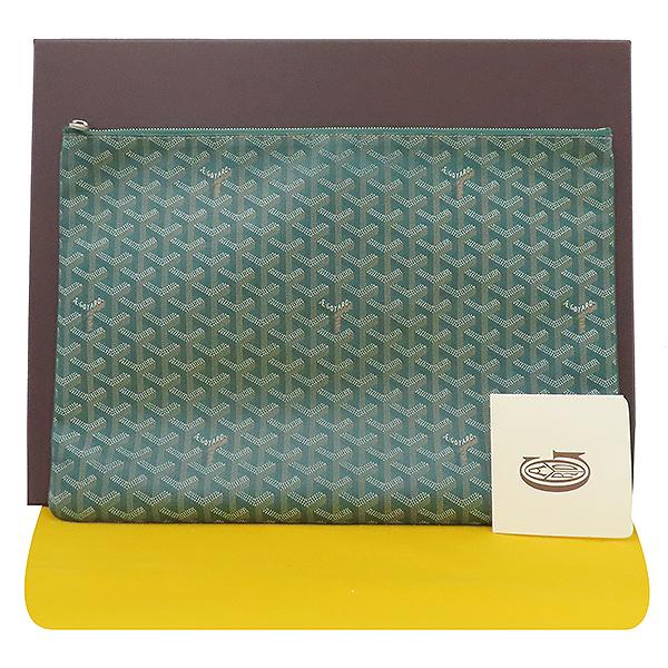 GOYARD(고야드) 스페셜 그린 컬러 SENAT(세나) GM 클러치 [부산서면롯데점]