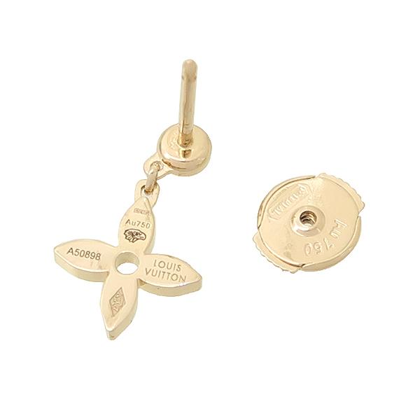 Louis Vuitton(루이비통) Q96169 18K 핑크 골드 다이아 이딜 블라썸 귀걸이 [강남본점] 이미지4 - 고이비토 중고명품