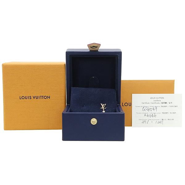 Louis Vuitton(루이비통) Q96549 18K 핑크 골드 1포인트 다이아 이딜 블라썸 LV 귀걸이 [강남본점]