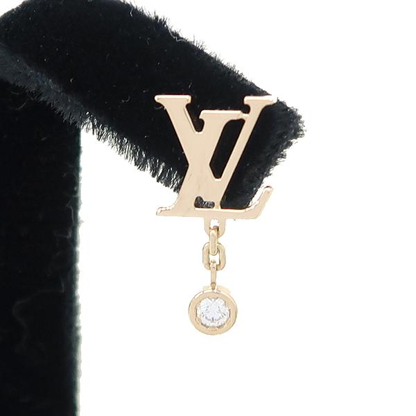 Louis Vuitton(루이비통) Q96549 18K 핑크 골드 1포인트 다이아 이딜 블라썸 LV 귀걸이 [강남본점] 이미지3 - 고이비토 중고명품
