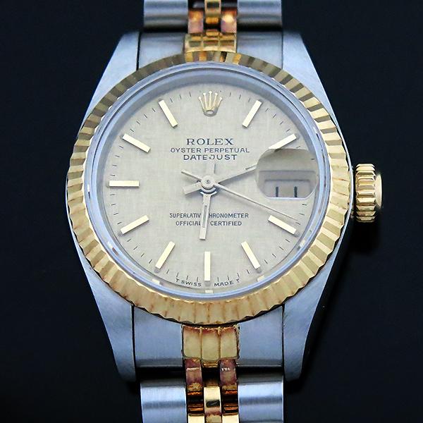 Rolex(로렉스) 69173 18K 콤비 보카시판 DATE JUST(데이트 저스트) 여성용 시계 [부산센텀본점] 이미지4 - 고이비토 중고명품