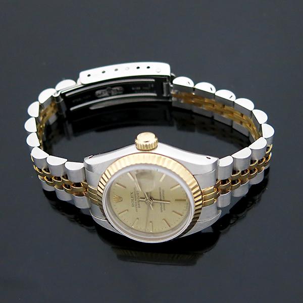 Rolex(로렉스) 69173 18K 콤비 보카시판 DATE JUST(데이트 저스트) 여성용 시계 [부산센텀본점] 이미지5 - 고이비토 중고명품
