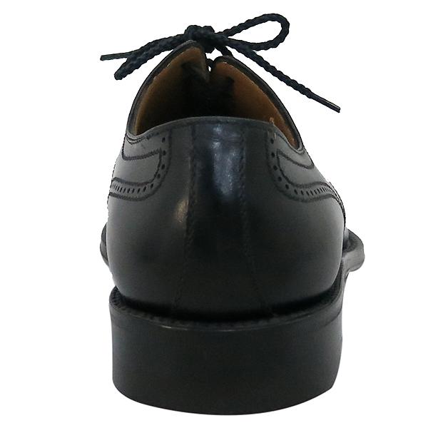 A.testoni(테스토니) 블랙 레더 남성용 구두 [부산센텀본점]