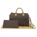 Louis Vuitton(루이비통) M41112 모노그램 스피디 반둘리에30 토트백 + 숄더스트랩 2WAY [부산서면롯데점]