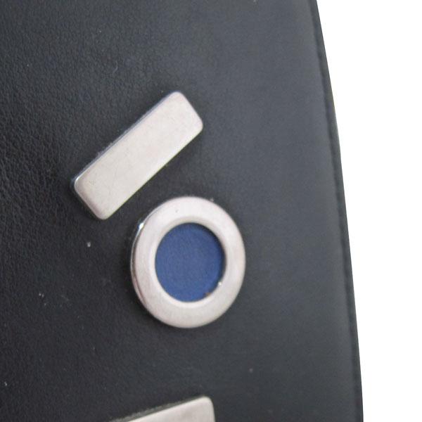 Fendi(펜디) 7M0169-SL9 블랙 레더 페이스 남성용 반지갑 [대구반월당본점] 이미지4 - 고이비토 중고명품