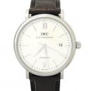 IWC(아이더블유씨) IW356501 PORTOFINO (포르토피노) 스틸 가죽밴드 오토메틱 남성용 시계 [강남본점]