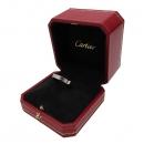 Cartier(까르띠에) B4051361 PT950 (플래티늄) 화이트골드 인그레이빙 1포인트 다이아 웨딩 반지 [인천점]