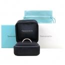 Tiffany(티파니) PT950(플래티늄) + 18K 핑크 골드 콤비 밀그레인 4MM 반지-23호 [강남본점]