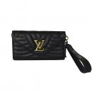 Louis Vuitton(루이비통) M63298 블랙 퀄팅 레더 뉴 웨이브 롱 월릿 장지갑 [대전본점]
