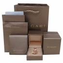 Bvlgari(불가리) AN858365 18k 750 핑크 골드 다이아몬드 (0.20ct) 파베 세팅 비제로원 레전드 링 반지 [인천점]