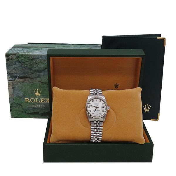 Rolex(로렉스) 78274 DATEJUST 데이트저스트 31MM 10포인트 다이아 스틸 여성용 시계  [인천점]