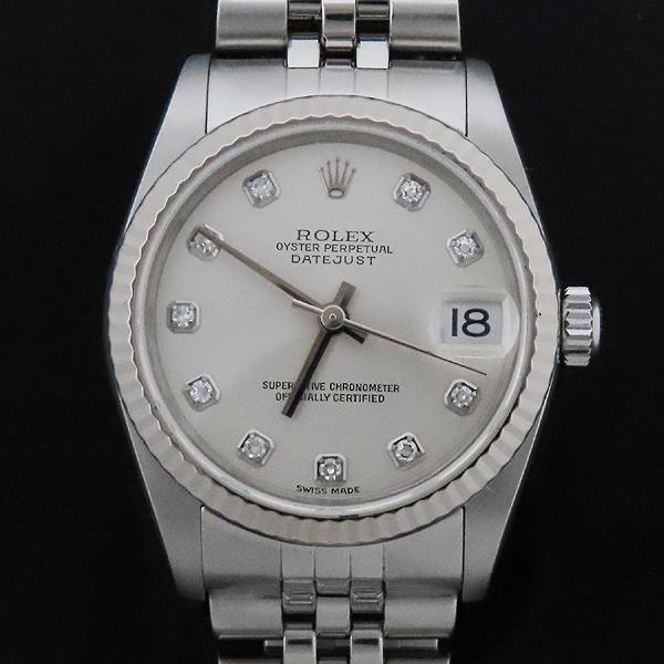 Rolex(로렉스) 78274 DATEJUST 데이트저스트 31MM 10포인트 다이아 스틸 여성용 시계  [인천점] 이미지2 - 고이비토 중고명품