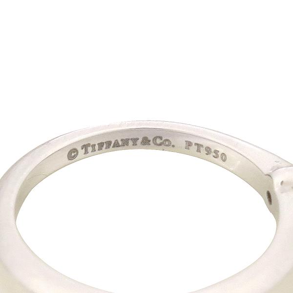 Tiffany(티파니) PT950(플레티늄) 0.20CT(캐럿) G컬러 VS1 다이아 웨딩 반지 - 12호 [강남본점] 이미지4 - 고이비토 중고명품