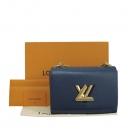 Louis Vuitton(루이비통) M53090 네이비 에삐 레더 금장 트위스트 MM 체인 숄더 겸 크로스백 [대구동성로점]