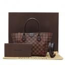 Louis Vuitton(루이비통) N41551 다미에 에벤 캔버스 카이사 PM 토트백 + 숄더스트랩 2WAY [인천점]