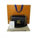 Louis Vuitton(루이비통) M54804 블랙 에삐 레더 트위스트 MM 체인 숄더 겸 크로스백 [대전본점]