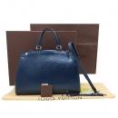 Louis Vuitton(루이비통) M40821 에삐 INDIGO 블루 브레아 MM 토트백 + 숄더스트랩 [인천점]