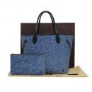 Louis Vuitton(루이비통) M51053 트위스트 에삐 데님 레더 네버풀 MM 숄더백 + 보조 파우치 [인천점]