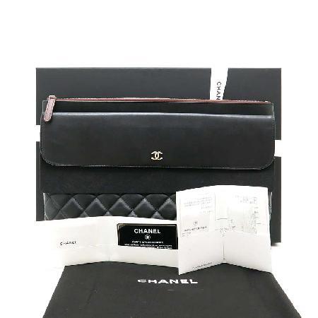 Chanel(샤넬) 17S A82683 램스킨 플랩 L사이즈 클러치 [부산해운대역점](W) 이미지2 - 고이비토 중고명품