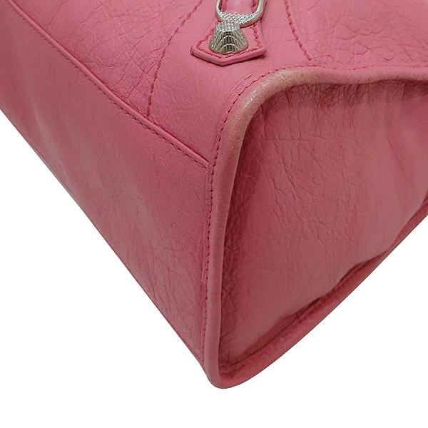 Balenciaga(발렌시아가) 281770 핑크 레더 빈티지 뉴 자이언트 시티 토트백 + 숄더스트랩 + 보조거울 2WAY [인천점] 이미지6 - 고이비토 중고명품