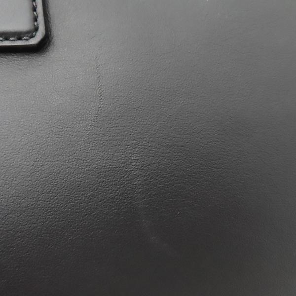 Prada(프라다) 1BA274 은장 로고 카프 블랙 레더 토트백 + 숄더스트랩 2WAY [부산서면롯데점] 이미지5 - 고이비토 중고명품