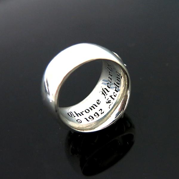 Chrome Hearts(크롬하츠) 925 (실버) 플로랄 크로스링 반지 - 20호 [부산센텀본점] 이미지6 - 고이비토 중고명품