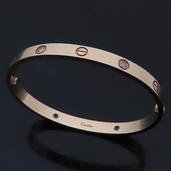 Cartier(까르띠에) B6036019 18K 750 핑크 골드 다이아 4포인트 러브 브레이슬릿 팔찌 [인천점]