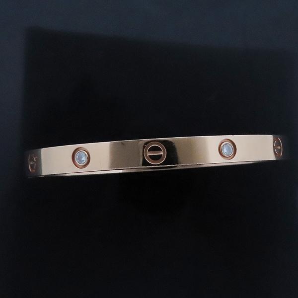 Cartier(까르띠에) B6036019 18K 750 핑크 골드 다이아 4포인트 러브 브레이슬릿 팔찌 [인천점] 이미지2 - 고이비토 중고명품