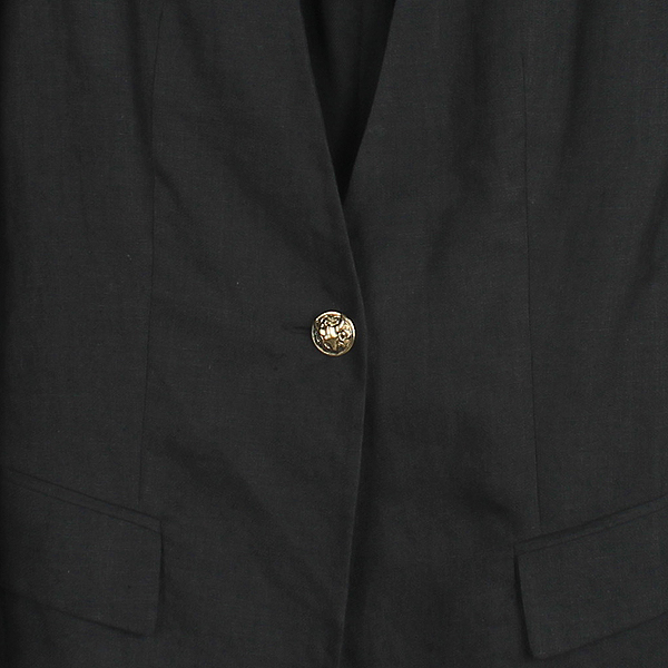 Balmain(발망) 블랙컬러 린넨 1버튼 자켓 [강남본점] 이미지2 - 고이비토 중고명품