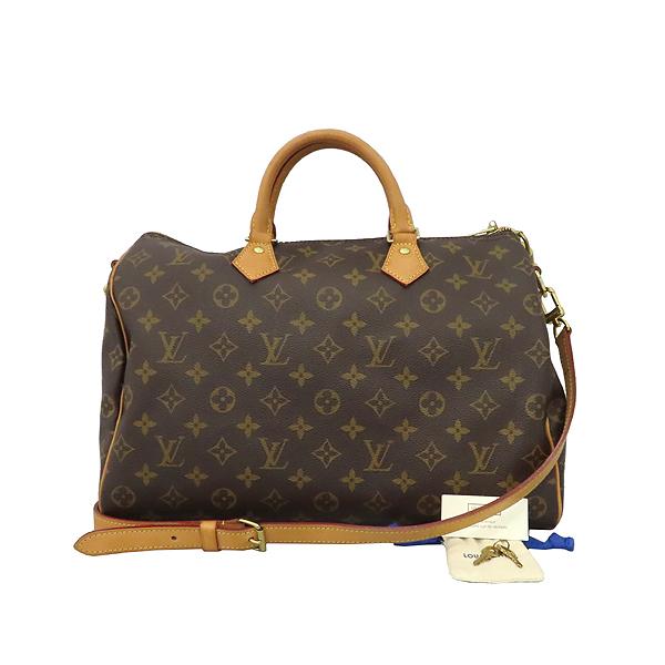Louis Vuitton(루이비통) M41111 모노그램 캔버스 신형 반둘리에 스피디 35 토트백 + 숄더스트랩 [대구황금점]