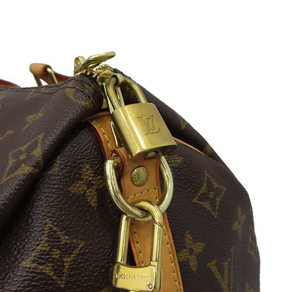 Louis Vuitton(루이비통) M41111 모노그램 캔버스 신형 반둘리에 스피디 35 토트백 + 숄더스트랩 [대구황금점] 이미지5 - 고이비토 중고명품