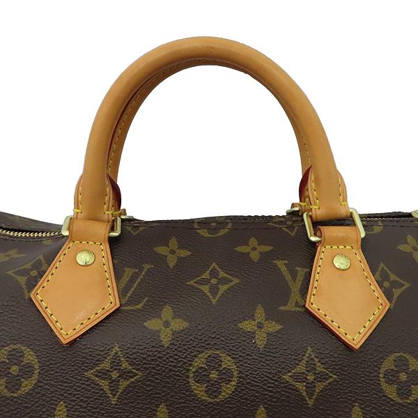 Louis Vuitton(루이비통) M41111 모노그램 캔버스 신형 반둘리에 스피디 35 토트백 + 숄더스트랩 [대구황금점] 이미지6 - 고이비토 중고명품