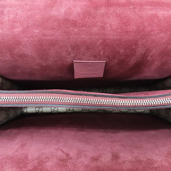 Gucci(구찌) 400235 GG 로고 블룸 캔버스 Dionysus 디오니소스 타이거 헤드 스웨이드 체인 숄더백 [인천점] 이미지7 - 고이비토 중고명품