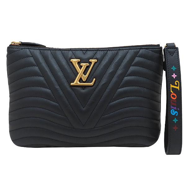 Louis Vuitton(루이비통) M63943 블랙 퀄팅 뉴 웨이브 집 포쉐트 클러치 + 스트랩  [인천점] 이미지2 - 고이비토 중고명품