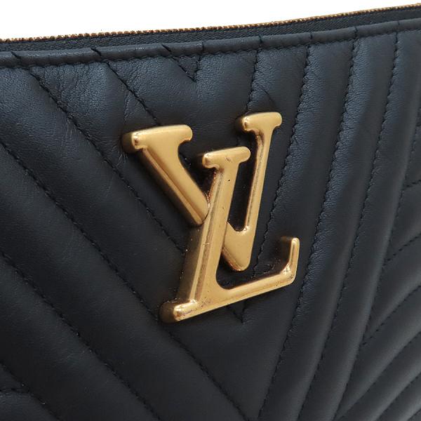 Louis Vuitton(루이비통) M63943 블랙 퀄팅 뉴 웨이브 집 포쉐트 클러치 + 스트랩  [인천점] 이미지4 - 고이비토 중고명품