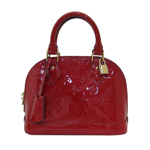 Louis Vuitton(루이비통) M90174 모노그램 레드 컬러 베르니 알마 BB 토트백 + 숄더스트랩 2WAY [부산센텀본점] 이미지2 - 고이비토 중고명품