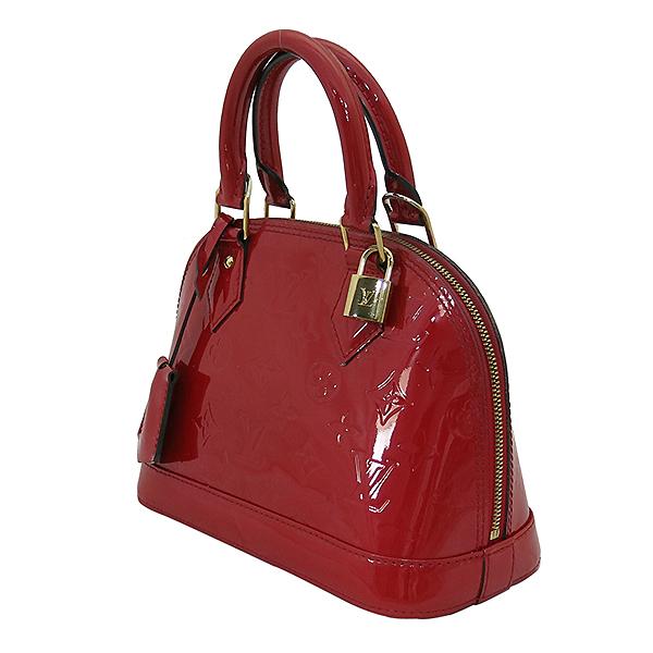 Louis Vuitton(루이비통) M90174 모노그램 레드 컬러 베르니 알마 BB 토트백 + 숄더스트랩 2WAY [부산센텀본점] 이미지3 - 고이비토 중고명품
