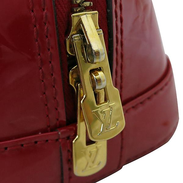 Louis Vuitton(루이비통) M90174 모노그램 레드 컬러 베르니 알마 BB 토트백 + 숄더스트랩 2WAY [부산센텀본점] 이미지6 - 고이비토 중고명품