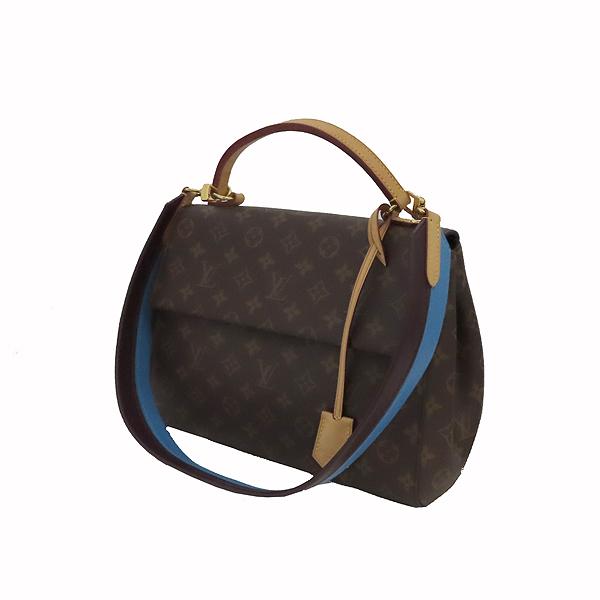 Louis Vuitton(루이비통) M42735 모노그램 캔버스 클루니 MM 블루 글래셜 토트백+숄더 스트랩 [잠실점] 이미지2 - 고이비토 중고명품