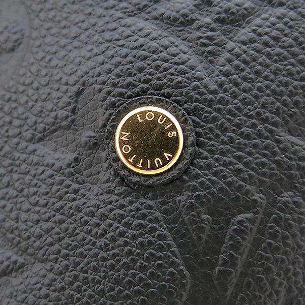 Louis Vuitton(루이비통) M41048 모노그램 앙프렝트 NOIR(블랙) 몽테뉴 MM 토트백+숄더스트랩 [부산센텀본점] 이미지4 - 고이비토 중고명품