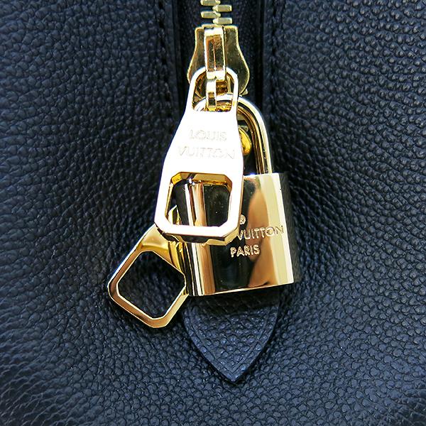 Louis Vuitton(루이비통) M41048 모노그램 앙프렝트 NOIR(블랙) 몽테뉴 MM 토트백+숄더스트랩 [부산센텀본점] 이미지5 - 고이비토 중고명품