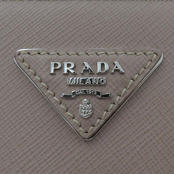 Prada(프라다) B2963Y 핑크 레더 사피아노 럭스 토트백 + 숄더스트랩 2WAY [부산서면롯데점] 이미지4 - 고이비토 중고명품