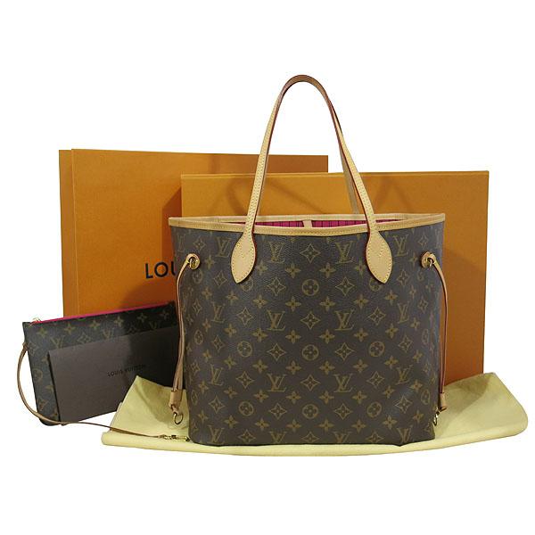 Louis Vuitton(루이비통) M41178 모노그램 캔버스 신형 네버풀 MM 숄더백 + 보조파우치 [대구동성로점]