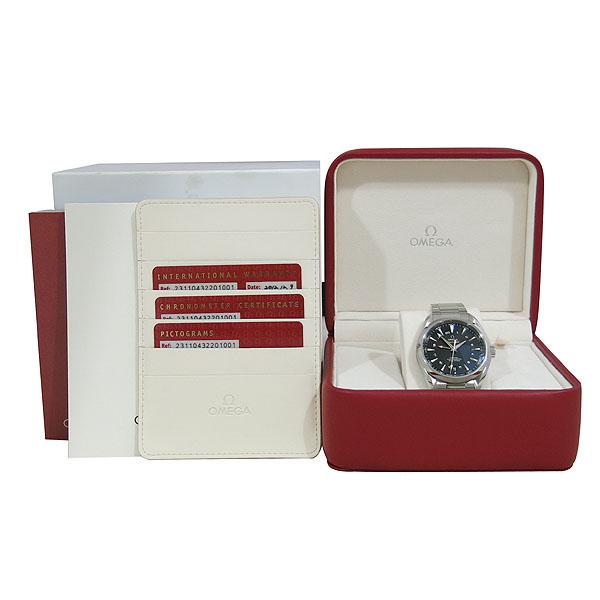 Omega(오메가) 231.10.43.22.01.001 씨마스터 아쿠아테라 43MM 코‑액시얼 GMT 오토매틱 남성용 시계 [대구동성로점]