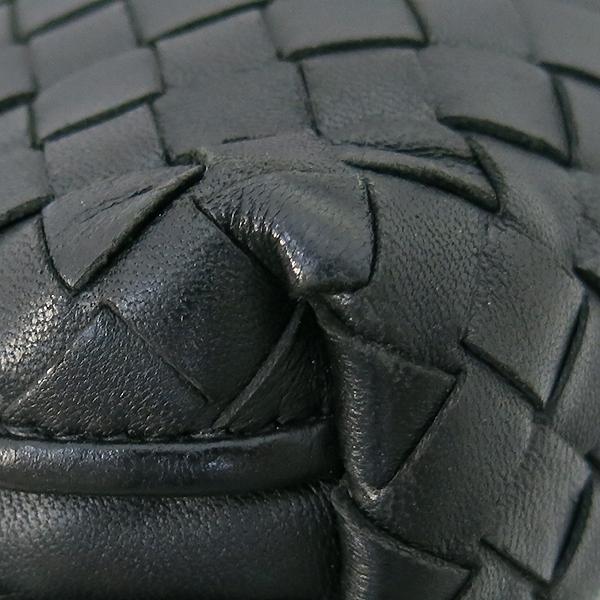 BOTTEGAVENETA (보테가베네타) 245354 블랙 컬러 인트레치아토 크로스백 +보조거울 [부산센텀본점] 이미지5 - 고이비토 중고명품