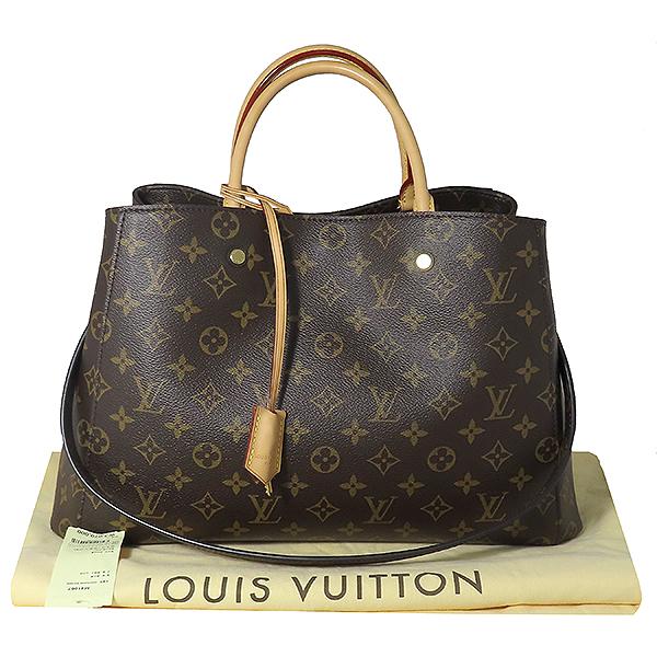 Louis Vuitton(루이비통) M41067 모노그램 캔버스 몽테뉴 GM 토트백 + 숄더스트랩 2WAY [대전본점]