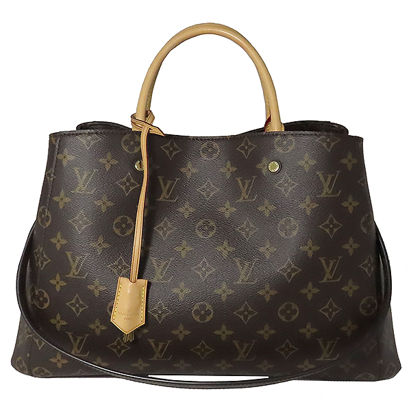 Louis Vuitton(루이비통) M41067 모노그램 캔버스 몽테뉴 GM 토트백 + 숄더스트랩 2WAY [대전본점] 이미지2 - 고이비토 중고명품